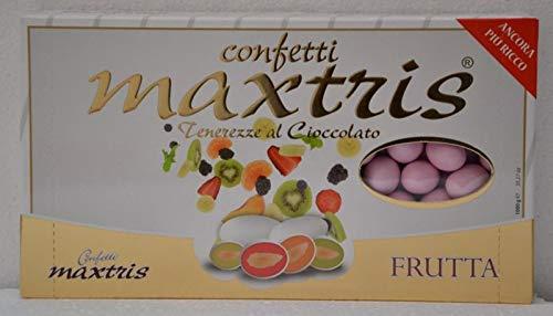 MAXTRIS   Confetti Italiani di Mandorla   MIX FRUTTA ROSA   1 Kg.
