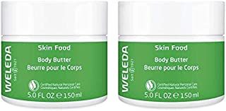 Weleda Naturals Skin Food Body Butter (Pack of 2) With Sunflower Seed, Cocoa, Shea Butter, Rosemary, Chamomile, Calendula, Limonene, Linalool and Gernaiol, 5 oz. each
