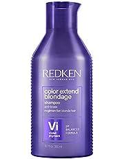 Redken Color Extend Blondage Shampoo Professionale | Capelli Biondi | Pigmenti viola per capelli biondi, deterge delicatamente, neutralizza i riflessi caldi e rinforza i capelli | 300 ml
