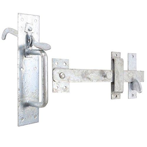 Garden Suffolk Thumb Latch - Heavy Duty Galvanised Gate/Shed/Door Handle Catch