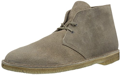 Clarks Mens Desert Boot Taupe Distressed Boots M,13 D(M) US