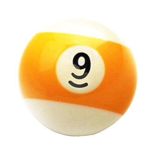 Black Temptation 1 Pcs Cue Sport Snooker USA Pool Billardkugeln 57.2 mm /2-1/4 -NO.9