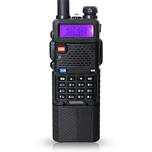 XAOBNIU 2 PCS Walkie Talkies Rango Radio de Dos vías Largo Ultra Larga Tiempo de Espera (3800mAh Recargable de Ion de Litio) Radio FM 2-Way Radio con Auriculares PMR446 8 Canales