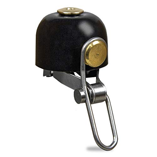 OTTOLOCK Bike Bell | Classic Brass Handlebar-Mounted Bell | Loud Ring for Safety