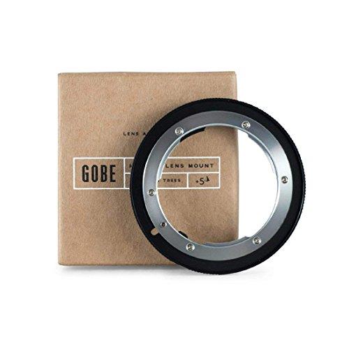 Gobe - Adaptador de Lente Compatible para Lentes Nikon F y cuerpos de cámara Canon EOS (EF/EF-S)
