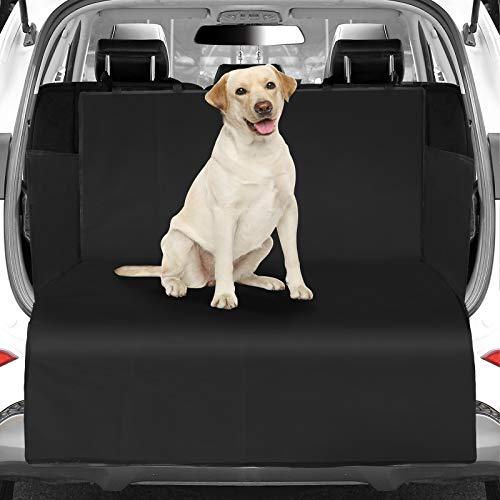WOMGF Telo Auto per Cani Universale Copertura Bagagliaio Protezione Portabagagli Tappeto per Bagagliaio di Grandi Dimensioni con Protezione Laterale