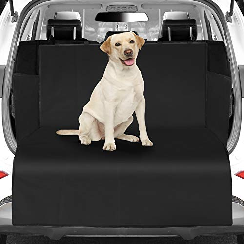 WOMGF Protección Impermeable de Doble Cara Funda Coche para Perros de Cubreasientos Antideslizante Protectores de Tapicería para Mascota Tela Oxford Estera