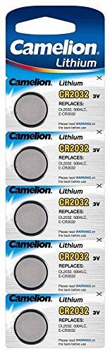 CAMELION cR2032 avec lithium 3.0 v/mAh