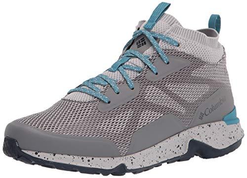 Columbia womens Vitesse Mid Outdry Hiking Shoe, Ti Grey Steel/Shasta, 8.5 US
