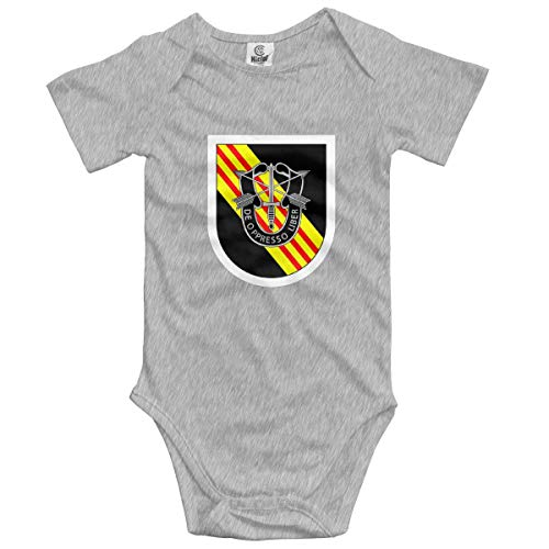Klotr 5. Special Forces Group Baby Baby Shorts Ärmel Bodysuits Strampler Outfits