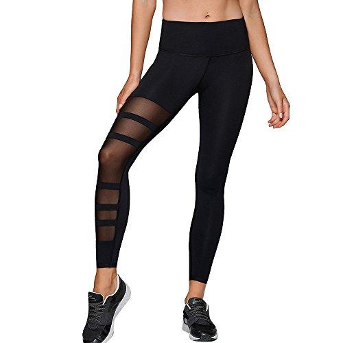SHJIRsei Damen Yoga Hosen, Frauen Yoga Hosen Pants Gamaschen Hosen Yoga Sport Loch beiläufige Hosen der Art und Weise Plus Größen Frauen Laufhose Sweathose Jogging Trainingshose Freizeithose