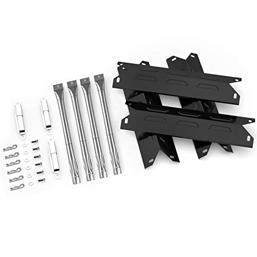 Uniflasy Grill Parts Kit for Kenmore 146.34611410 146.23679310 146.46372610 146.34461410 146.23681310 146.16142210 146.10016510 146.23673310 146.16198211 146.46366610 (Porcelain Steel)