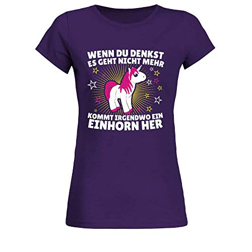 Einhorn Shirt · Einhörner · Fabelwesen · Glitzer · Damenshirt · Fabel · Unicorn Frauen...
