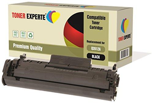 TONER EXPERTE® Compatible Q2612A 12A Cartucho de Tóner Láser para HP Laserjet 1010 1012 1015 1018 1020 1020+ 1022 1022N 1022NW 3010 3015 3020 3030 3050 3052 3055 M1005 MFP M1319F MFP