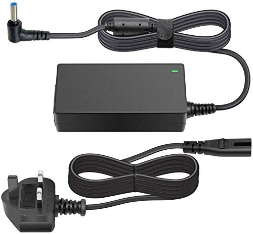 45W 19.5V 2.31A Replacement AC Laptop Power Adapter Notebook Charger for HP Stream 11 13 14 Elitebook Folio 1040 G1 Split 13 X2 Spectre Ultrabook X2 X360 360 13t Touchsmart 15 Tablet PC PSU UK AC Cord