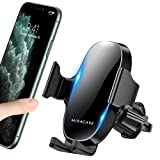 【2020 Upgraded】 Miracase Car Phone Mount, Air Vent Cell Phone Holder for Car, Universal Car Phone Holder Cradle Compatible with iPhone 11/11 Pro/11 Pro Max/XR/Xs/XS Max /8/7/6,Pixel,S10+ and More
