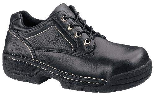 Hytest 10250 Men's Metatarsal Guard Safety Shoes - Black (4 D(M))