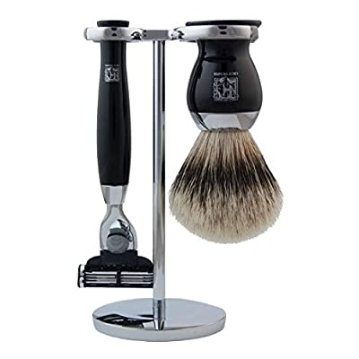 Geo F Trumper Polished Chrome Shaving Stand (Stand Only)