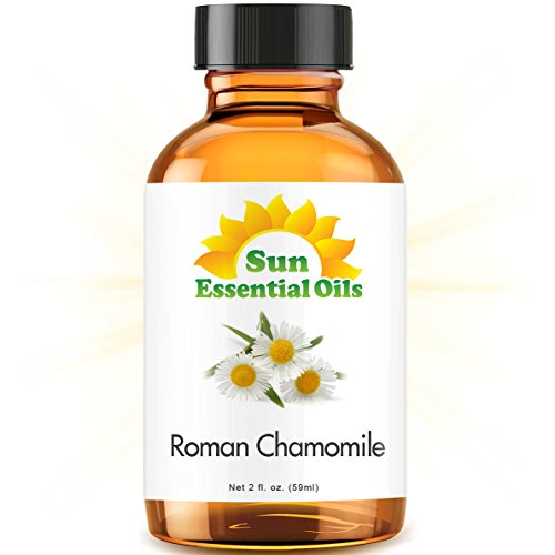 Chamomile (Roman) (2 fl oz) Best Essential Oil - 2 ounces (59ml)
