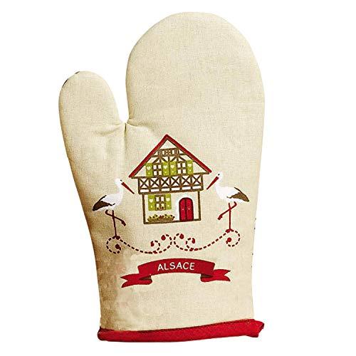 Winkler - Gant de cuisine - Gant de four - Gant plats chauds - Gant résistance chaleur - Intérieur doux - Accessoire cuisine - Hisla