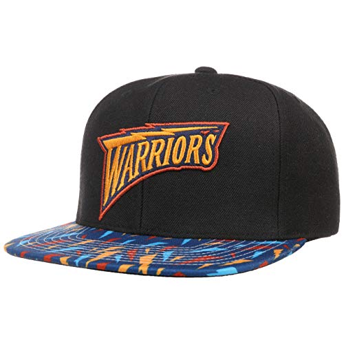 Mitchell & Ness Gorra Team DNA Warriors by beisbolgorra Baseball (Talla única - Negro)