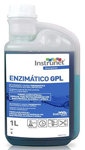 DETERGENTE LÍQUIDO TRIENZIMÁTICO INSTRUNET GPL con Potente ACCIÓN LIMPIADORA para Instrumental CLÍNICO Y ENDOSCÓPICO.