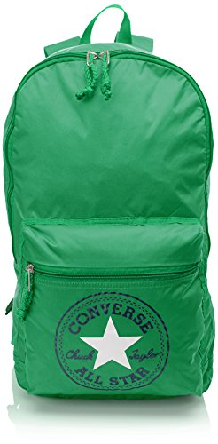 Converse Backpack CT Packable NY Season, Mochila Unisex Adulto Verde Size: 43x28x18