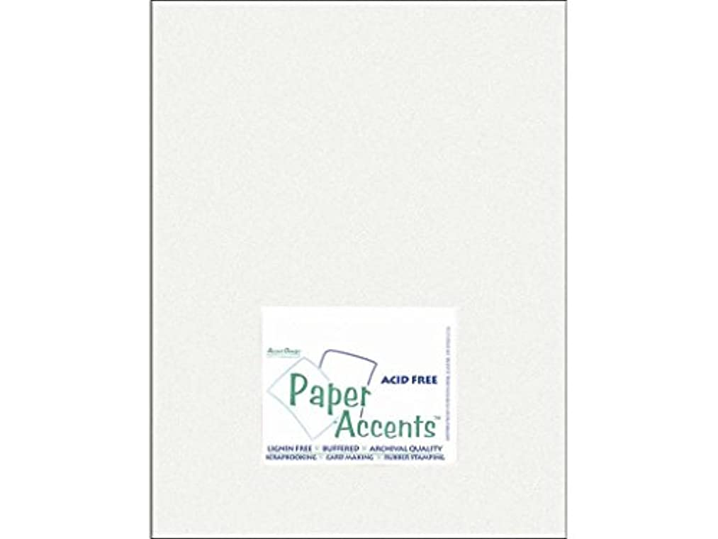 Accent Design Paper Accents PaperPearlized8511IceSilver Paper Pearlized 8.5x11 80# Ice Silver