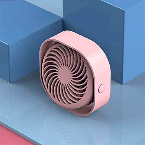 HBNNBV Mini Ventilador 2020 Nuevo Refrigerador de Ventilador de 360 ° USB Mini Air Fan Portátil 3 Velocidad Super Mute Enfriamiento para Fans de Desktop Fans Oficial Auto Travel Gadget USB Mano