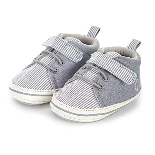 Sterntaler Baby Jungen Schuh Stiefel, Grau (Rauchgrau 566), 19/20 EU
