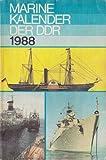 Marinekalender der DDR 1988 Volksmarine