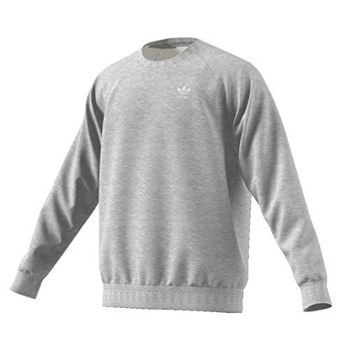 adidas Essential Crew Sweater Sweatshirt (L, Grey)