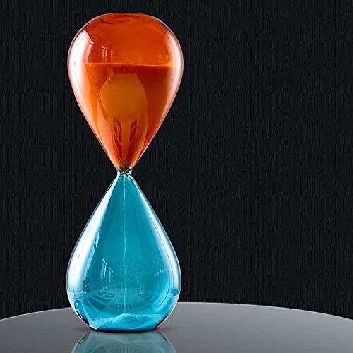 WXXT Reloj de Arena de Cristal de 5/15/30 Minutos,Temporizador de Cocina de...