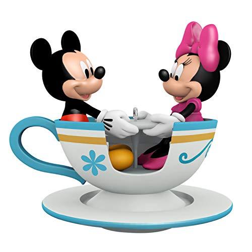 Hallmark Keepsake Christmas 2019 Year Dated Disney Mickey and Minnie Teacup for Two Ornament
