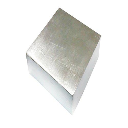 Sharplace 1x Bloque de Acero Inoxidable 64 x 64 x 20 mm para Crafts Artesanía de Cuero Joyería Bisutería