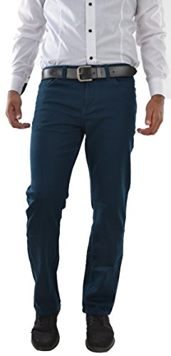 Marken Outlet Kriftel -  Pantaloni - Relaxed - Uomo Blu Blu/Benzina