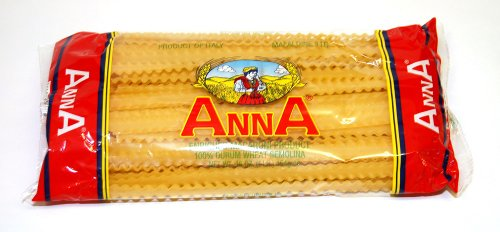 Anna - Italian Mafaldine Pasta N. 16, (4)- 16 oz. Pkgs.