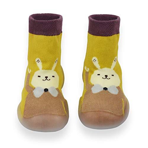 Hinrichsen & Co. Zapatillas para aprender a andar, para niños y niñas, zapatillas para bebés de 6 meses a 24 meses., color Multicolor, talla 12-18 meses