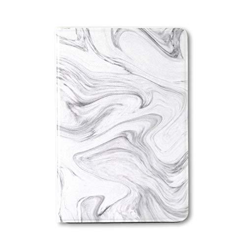 Plsdx TabletMiniIpadCover White And Black Hallucinatory Liquid Marble KidIpadMiniCase Ipad Mini 1/2/3 Auto Sleep/wake With Multi-angle Viewing For Ipad Mini 3/ Mini 2/ Mini 1