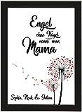 PICSonPAPER Personalisiertes Muttertagsgeschenk Poster DIN