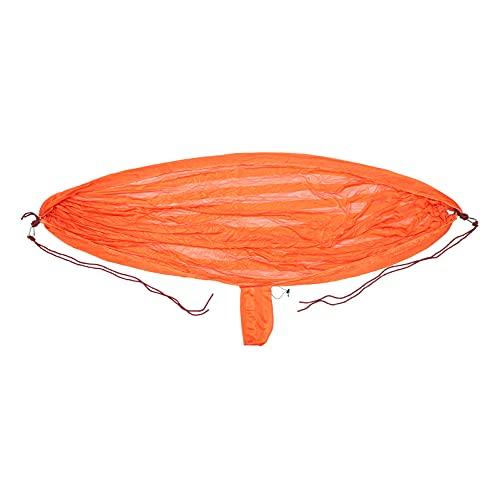 CLISPEED Camping Hamaca de Lona de Nylon Hamaca Columpio Paracaídas Doble Hamaca para Mochileros de Jardín Aire Libre