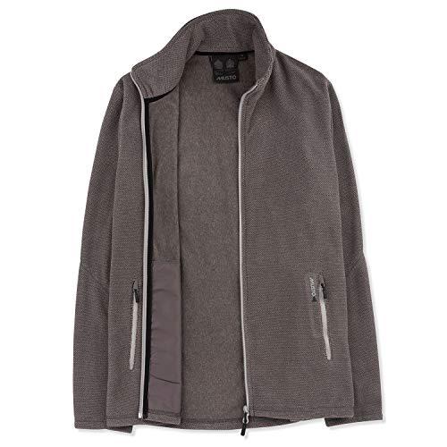 Musto Bowman Fleece Jacke Größe:M Farbe: Titanium