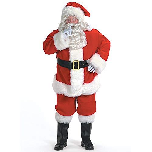 Professional Santa Claus Suit Adult Costume – Large