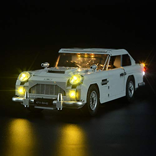 Lightailing Licht-Set Für (Creator Expert James Bond 007 Aston Martin DB5) Modell - LED Licht-Set Kompatibel Mit Lego 10262(Modell NICHT Enthalten)