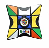 Rubik's Cube Magic Star Spinner, Perfect for Fidgeting, Simple & Fun Solving Element, Spin It, Twist It, Balance It & Solve It, Age 4+, Durable Plastic, 5.0' x 3.2' x 1.0' (Red)