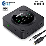Best Bluetooth Audio Receiver Transmitters - Bluetooth 5.0 Transmitter Receiver Wireless Adapter - 2 Review