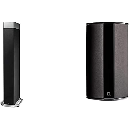 """Definitive Technology BP-9080x Bipolar Tower Speaker & SR-9080 15"""" Bipolar Surround Speaker 