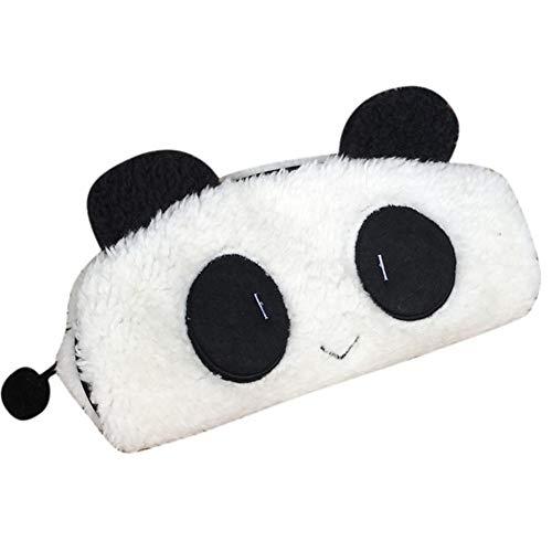 cosanter Boutique venta estuche Niedlich Panda lápiz bolsa estuche de peluche creativos estudiantes multifunción lápiz Lovely lápiz caso de maquillaje up funda cartera para niña