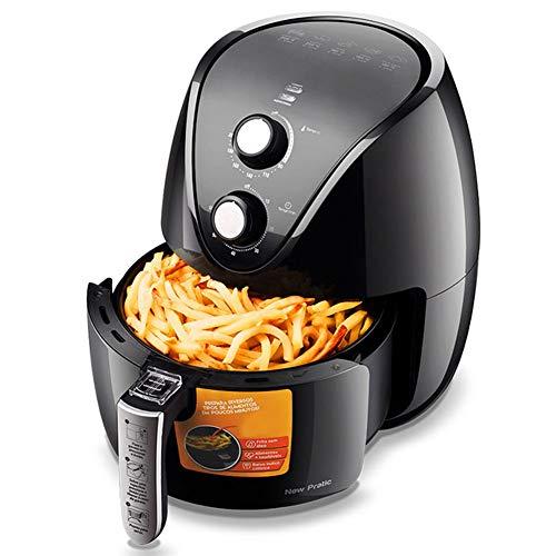 XL 3.5L Air Fryer Oil Free 1500W Heisluftfriteusen Heißluftfritteuse Mit Rapid Air-Technologie Mit Dual-Knob Timer Und Temperaturkontrolle, Nonstick Korb, Für Gesundes Öl Free Or Low Fat Cooking