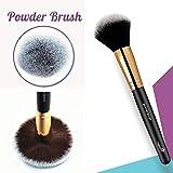 Brocha para polvos – Brocha para maquillaje profesional que te permitirá difuminar productos...